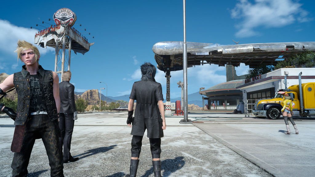 Comrades: The Final Fantasy XV multiplayer edition